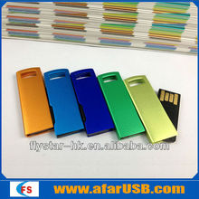 Big Discount! Metal mini usb flash memory, colors usb flash disk, beautiful usb memory stick