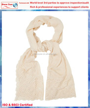 Cream color the main winter lady pashmina scarf,shawls and wraps,fashion lady scarf