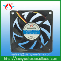 Axial fan 24v 12v dc brushless cooling fan 0.25A