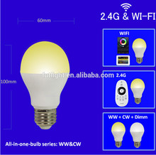 Best price Mi.light FUT017 CCT warm white and cool white led lighting for house hold use