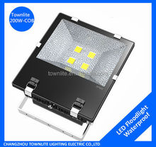 Direct from Factory High Efficiency 200w COB LED Flood Lighting brightest led football field lighting