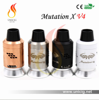 New Hot Seller Airflow Control System Authentic Mutation X V4 Atomizer Electronics Cigarette Making Machine