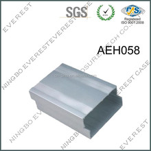 extruded aluminum enclosure for electronics power amplifier