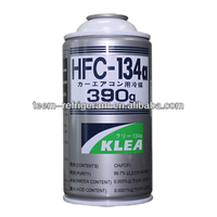 lpg refrigerator,refrigerant gas R134a small can 300g 340g 390g 1000g disposable package OEM