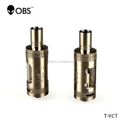 2015 OBS new arrival 0.25ohm sub ohm tank,top fill and block oil spills vaporizer tank,obstech t-vct