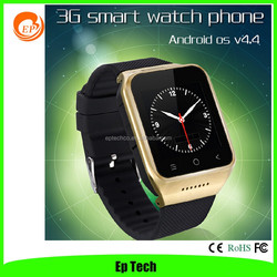 Latest products 1.54'' capacitive touch screen bluetooth 3G wifi smart watch mobile phone