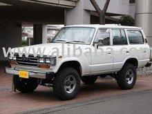 Before 1990 TOYOTA Land Cruiser GX Gas FJ62V/SUV/RHD/90300km/Gas/Petrol/White Used car