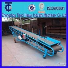 Rubber Belt Conveyor machine in Fertilizer Power and Pellet Belt Conveyor Machine