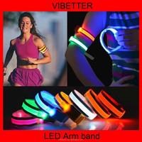 LB-10 Reflective tag led armband Reflective LED Sport Armband