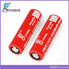 High quality IMR 18650 2600mah 38A battery 3.7V LiMn 18650 Red ECigarette Battery