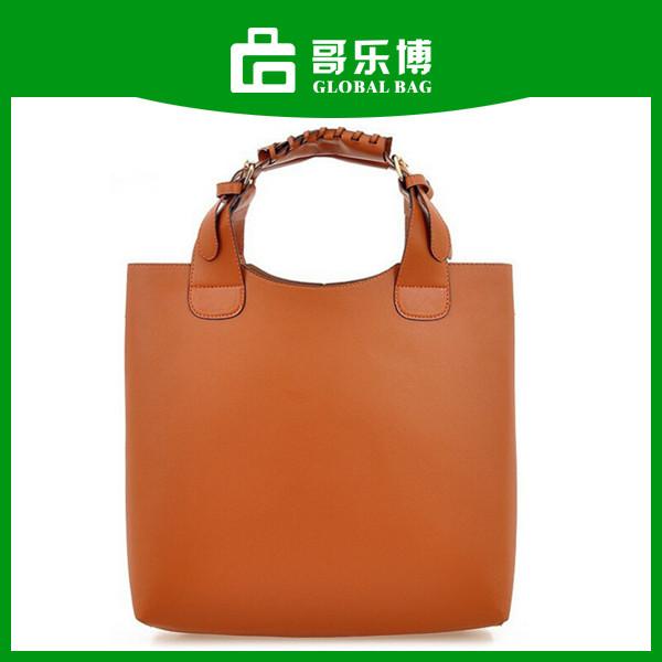 Promotion Cheap PU Leather Ladies Wholesale Handbags