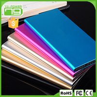 Brand new products 2015 for mobile phone for smartphone aluminium power bank