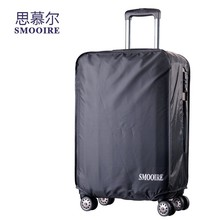 custom any logo and material polyester plastic protective luggage cover