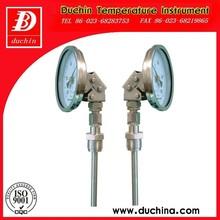 ajustable industrial termómetro bimetálico hecho en china