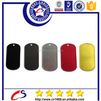Factory direct sale the different kinds of cheap blank dog tags