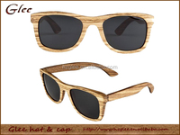 Zebrano Wood Sunglasses with Special Design