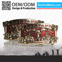 The most popular custom Metal custom name belt buckles