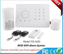 Anti-Theft GSM wireless alarm for home burglar alarm system with App operation