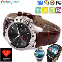 2015 smart watch with heart rate monitor electrocardiogram thermometer for health