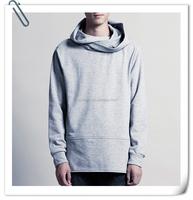 Wholesale mens sweatshirt/100% cotton sweat suits/Mens sweatshirt XXXL elongated hoodie For Men