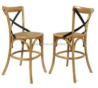 X back wood chair for wedding events , high back wood chair MX-1601B
