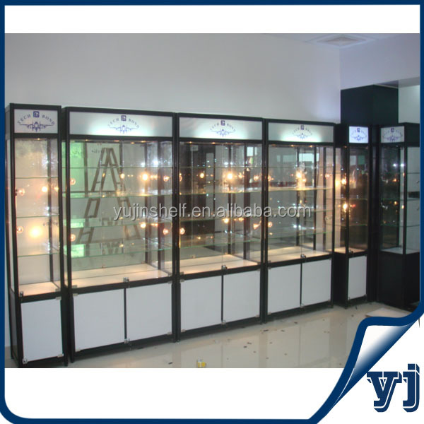 Guangzhou factory directly sale simple living room glass showcase design view living room glass - Glass showcase designs for living room ...