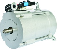 Electric car traction AC asynchronous motor