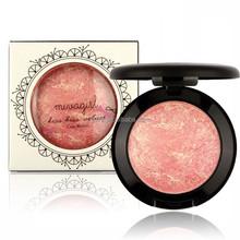 facial cosmetic Mivagilr baked veluet blusher fashion natural color blush