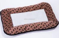 Luxury pet cushion/dog mat with paw/dog beds