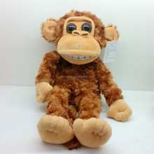 Moving hands and laugh cry doll baby monkey