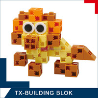 educational building block set - kids plastic connecting toys