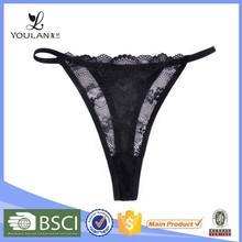 china facyory OEM black sex sexy g string panty models