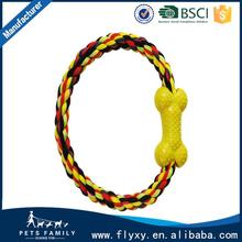 Wholesale Cheap Rope Ball Dog Toy Dog Knot Rope Toy Dog Chew Toy