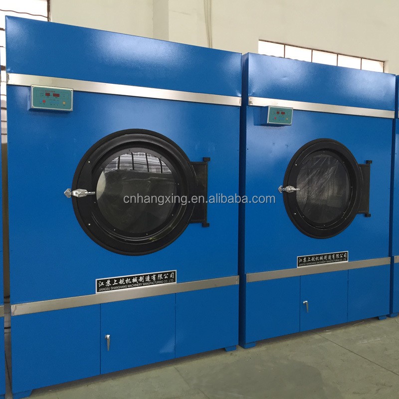 Hotel In Tumble Dryer ~ Automatic steam textile tumble dryers for hotel domitory