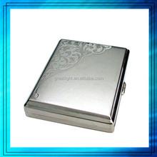 custom metal plastic cigarette case