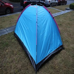 aluminium frame commercial camping tent with pvc coated small bag