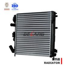 Aluminum engine radiator for DACIA LOGAN RENAULT PLATINA CLIO OE No.8200033831(DL-A009)