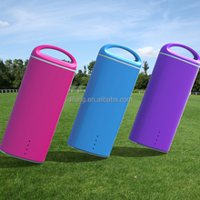 Portable Power Bank with comfortable touch Rubber coated Rechargeable Charger