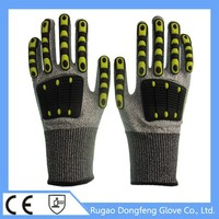 Factory Price High Quality Finger Protect Cut TPR Hand Protection