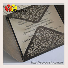 wholesale elegant and reasonable price graduation invitation card template for school and official supplies