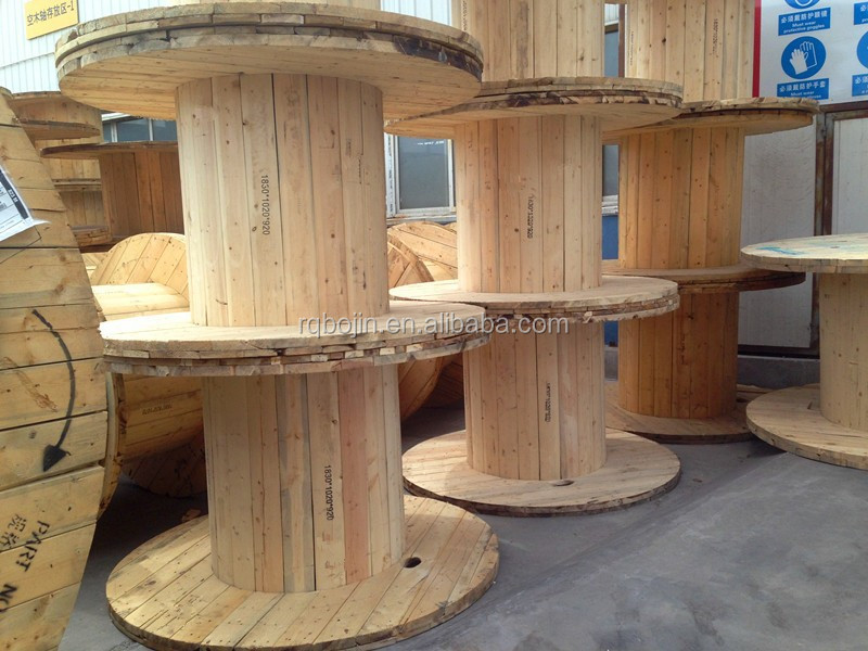For Electrical Cables Empty Power Large Wooden Cable Spool