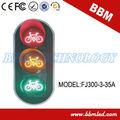 Las señales de tráfico de bicicletas