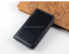 2015 hot selling business card holder/business card case/card wallet