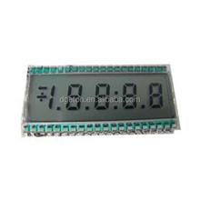 Custom TN segment LCD for scales