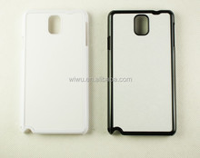 2D blank sublimation case forsamsung galaxy note 3, black white color