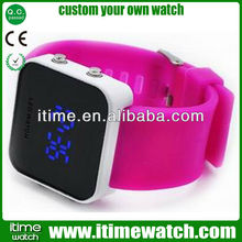 itimewatch japanese inspired blue led watch