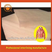 soft material polyester filler for apparel