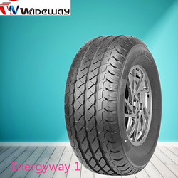 Commercial VAN new tires with white wall from chinese tire manufacture
