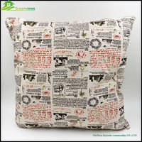 Soft bolster with 100% cotton for hotel wholesale custom printed inflatable bolster, slab bolster GVJMX23