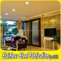 304 4x8 Stainless Steel Prefabricated Manufactured Home Wall Panels